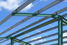Structure métallique bâtiment agricole