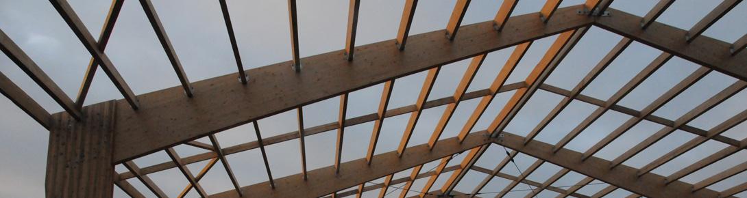 Structure bois du Centre de Plein Air de Lathus (86)